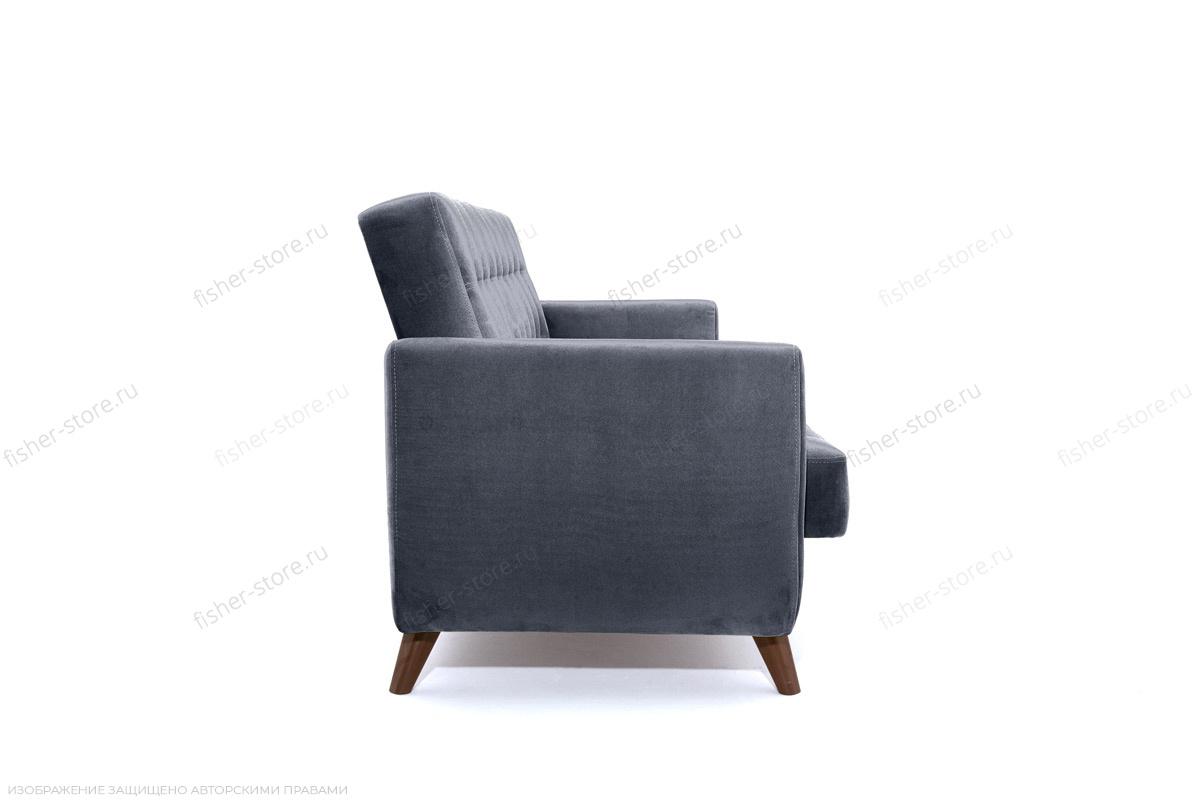 Прямой диван Оскар-2 с опорой №12 Amigo Navy Вид сбоку