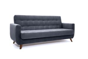 Прямой диван Оскар-2 с опорой №12 Amigo Navy Вид по диагонали