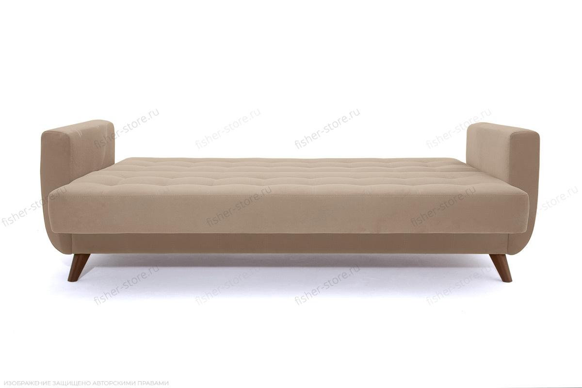 Прямой диван Оскар-2 с опорой №12 Amigo Latte Спальное место