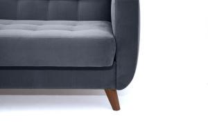 Прямой диван Оскар-2 с опорой №12 Amigo Navy Ножки