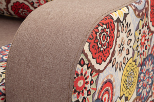 Прямой диван Верона Orion Java + History Summer Текстура ткани