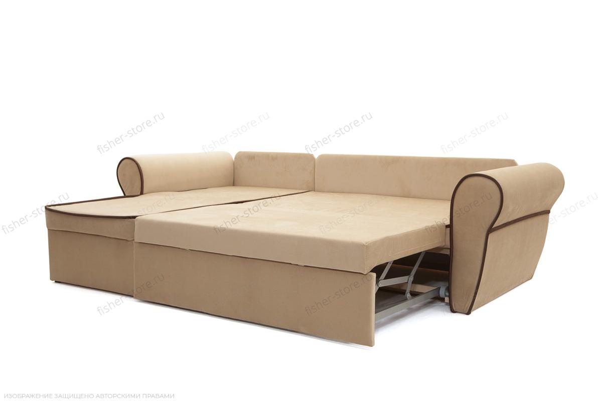 Угловой диван Рейн Amigo Beight + Amigo Brown Спальное место