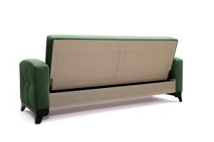 Прямой диван Оскар Amigo Green Вид сзади