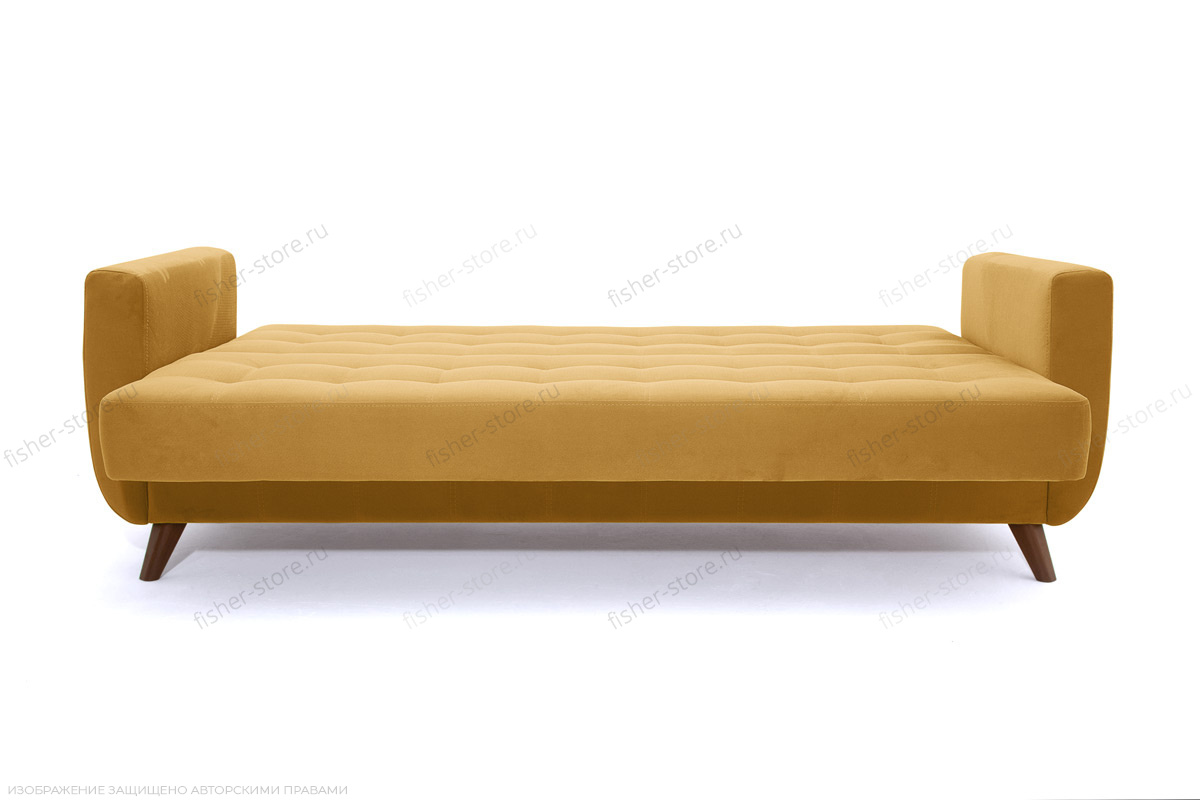 Диван Оскар-2 с опорой №12 Amigo Yellow Спальное место