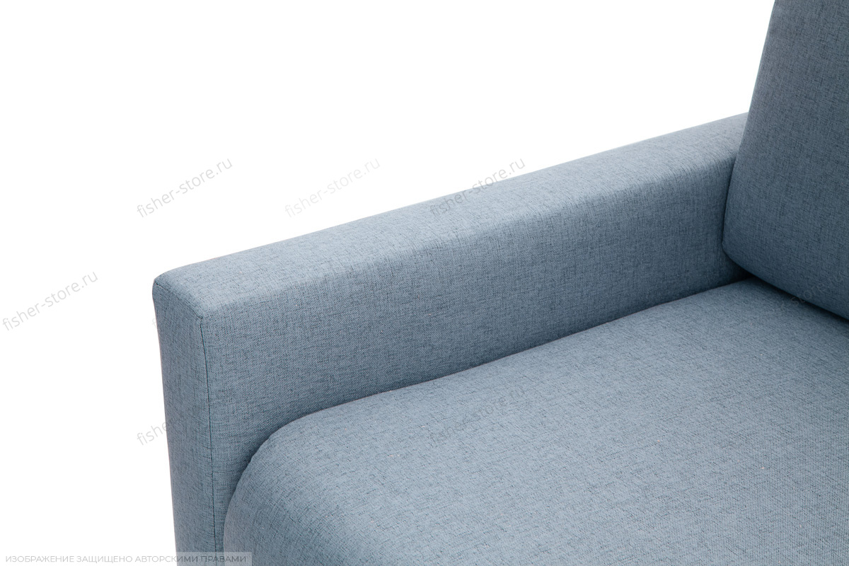 Прямой диван Форд Dream Blue Подлокотник