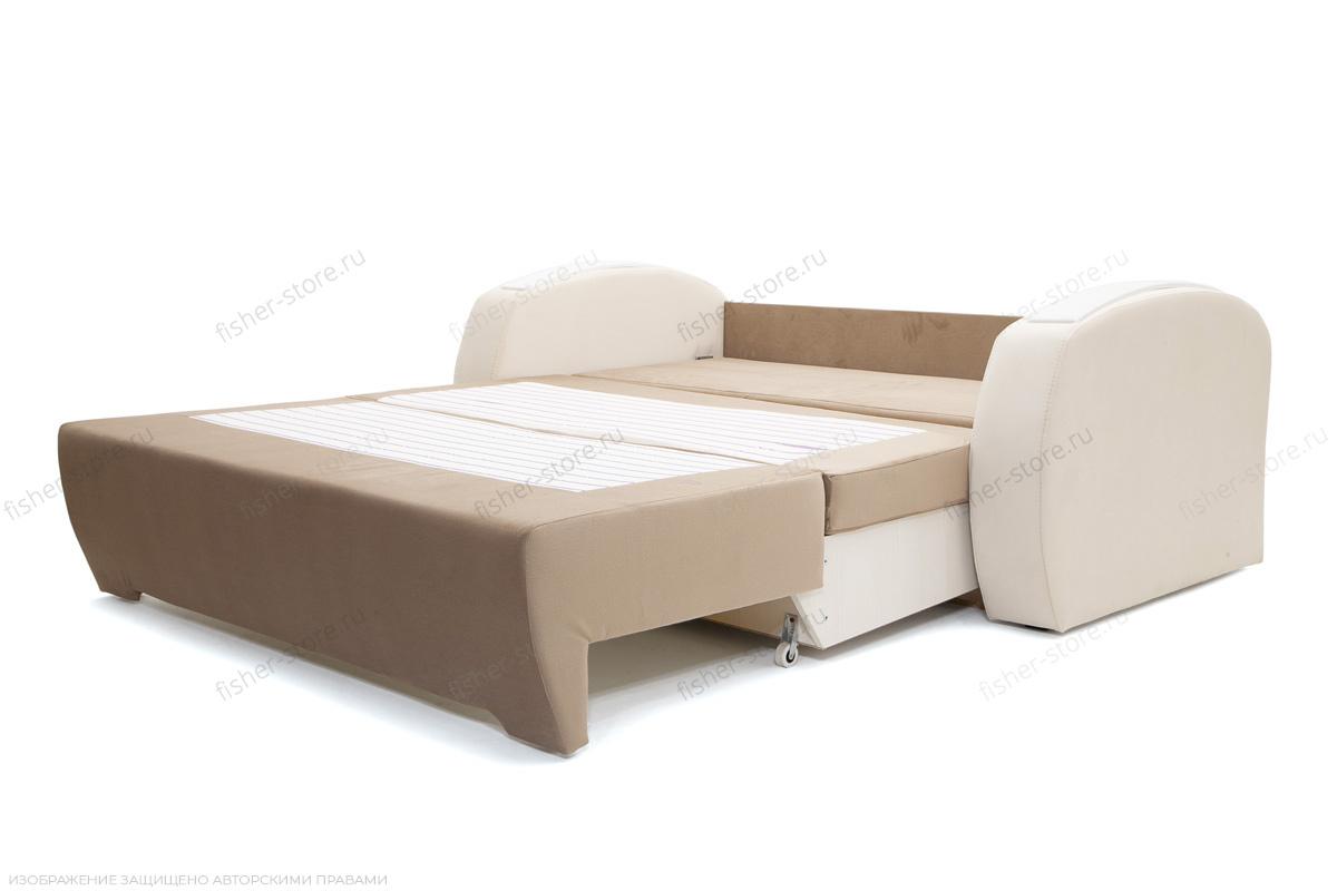 Прямой диван Браво-2 Amigo Latte + Amigo Bone Спальное место