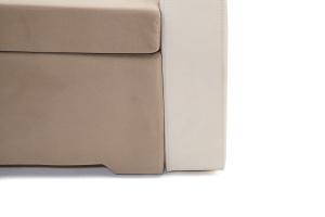 Прямой диван Браво-2 Amigo Latte + Amigo Bone Ножки