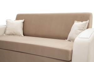 Прямой диван Браво-2 Amigo Latte + Amigo Bone Подушки