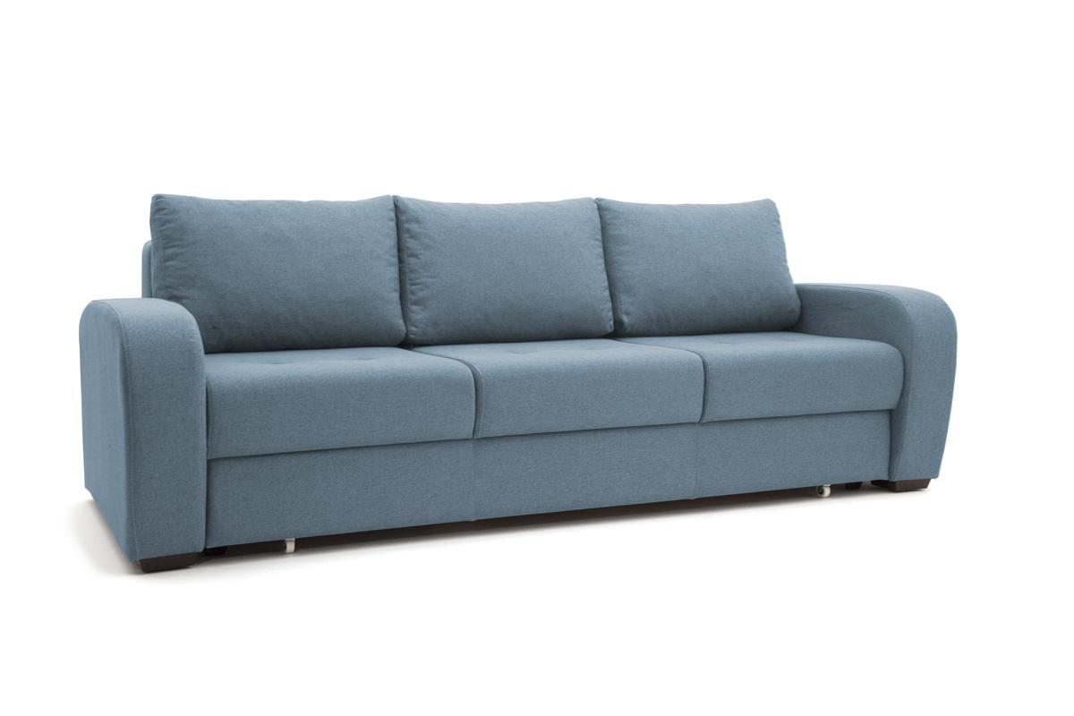 Прямой диван Селена Dream Blue Вид по диагонали
