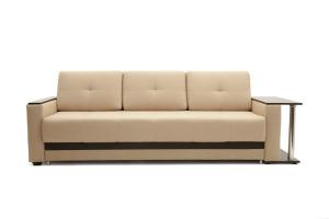 Светлый диван Атланта со столом Savana Camel + Sontex Umber Вид спереди