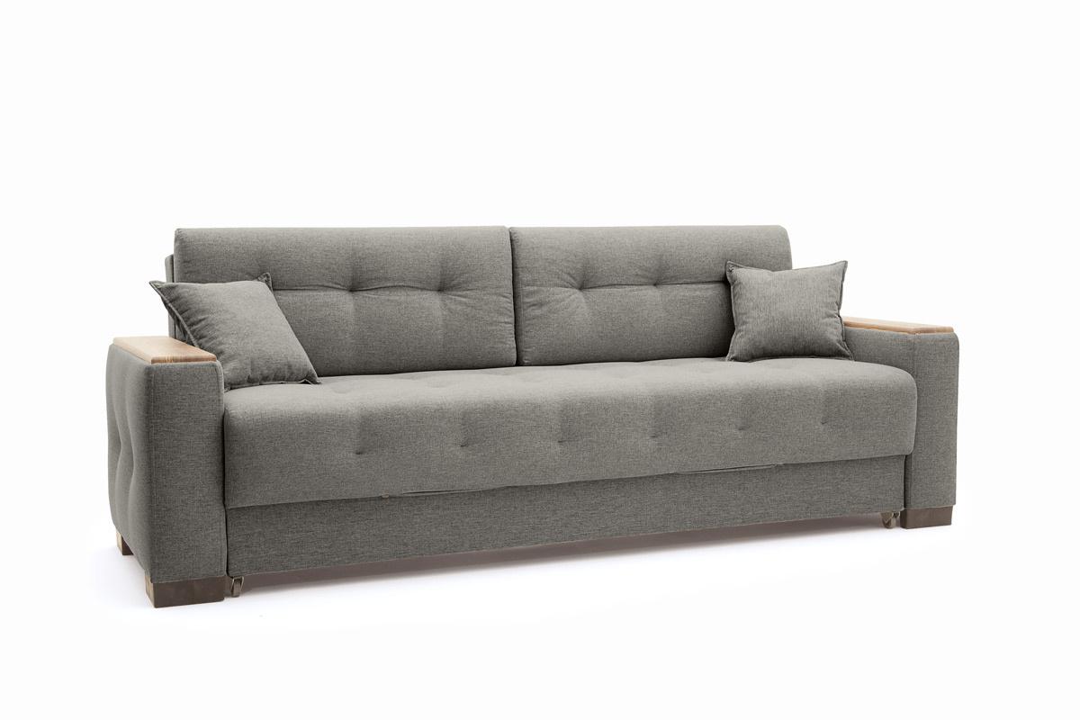 Прямой диван Фокус Dream Grey Вид по диагонали