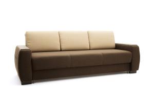 Двуспальный диван Премьер люкс Dream Brown + Savana Camel Вид по диагонали