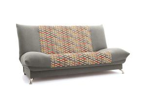 Двуспальный диван Хилтон-2 вилка Dream Grey + History Bricks Вид по диагонали