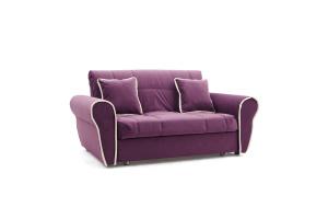 Прямой диван Виа-9 Maserati Purple + Beight Вид по диагонали