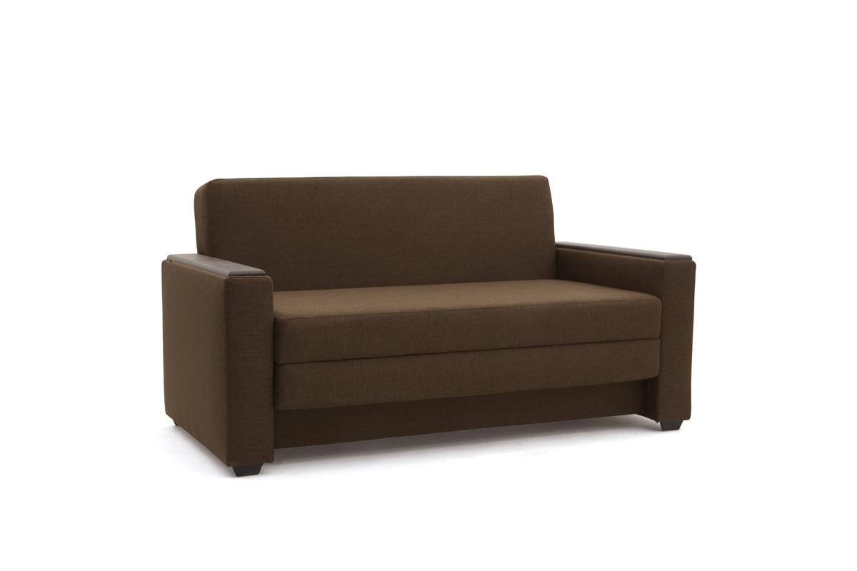 Прямой диван Этро-2 Dream Brown Вид по диагонали