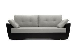 Прямой диван еврокнижка Амстердам эконом Dream Light Grey Вид спереди