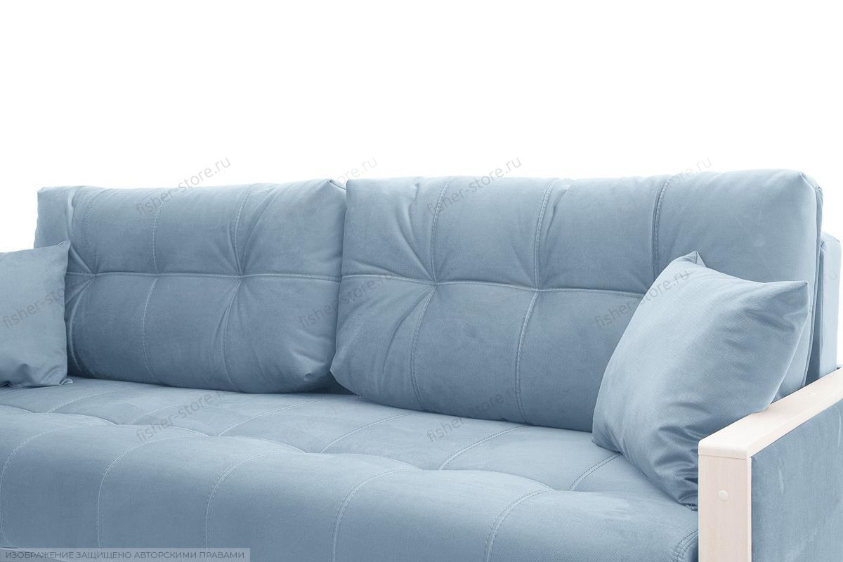Прямой диван Мадрид Amigo Blue Подушки