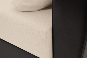 Прямой диван Амстердам эконом Dream Beight Текстура ткани