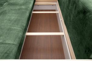 Прямой диван Мадрид Amigo Green Ящик для белья