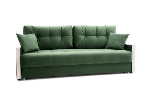Прямой диван Мадрид Amigo Green Вид по диагонали