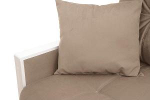 Прямой диван Мадрид Amigo Latte Подушки
