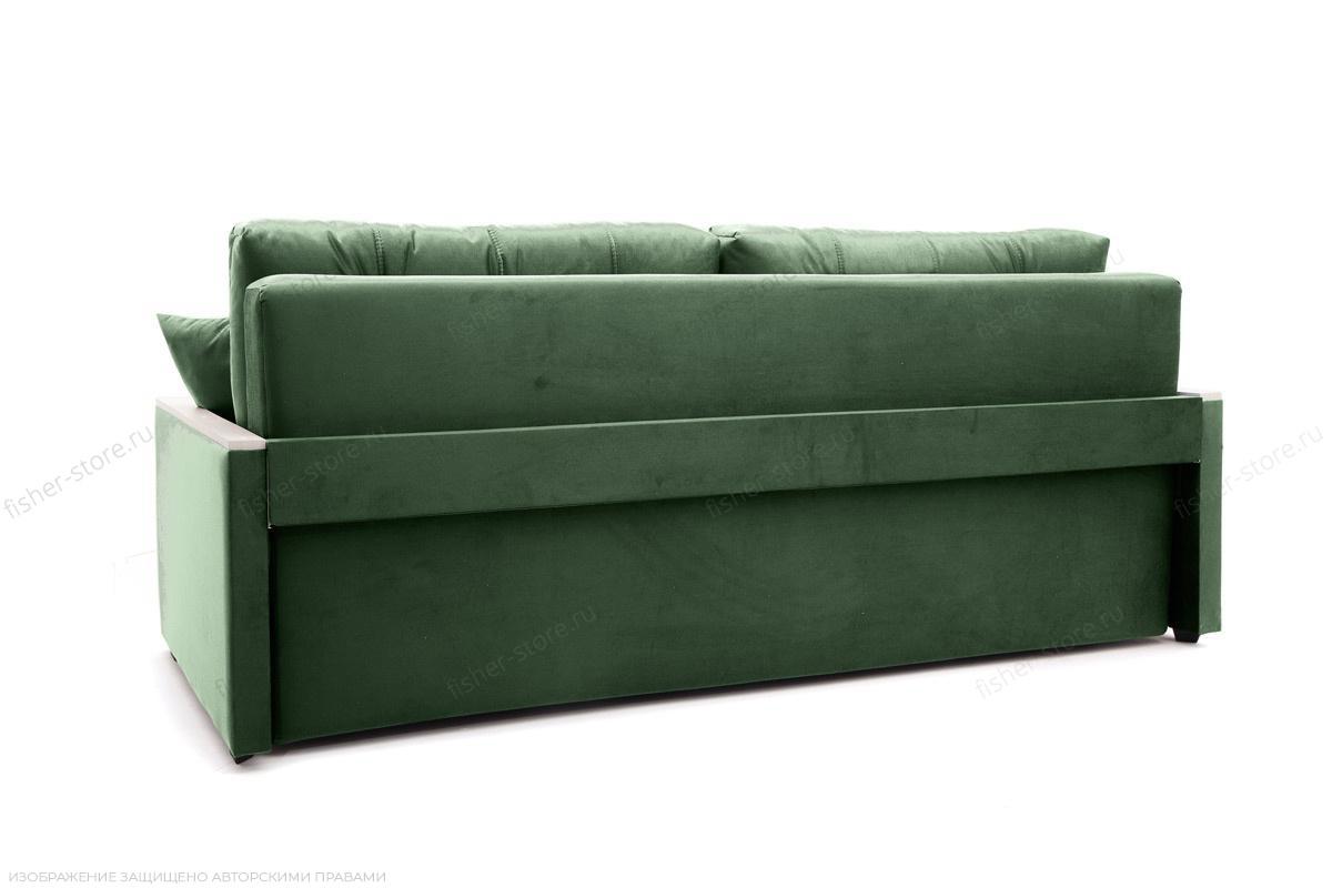 Прямой диван Мадрид Amigo Green Вид сзади