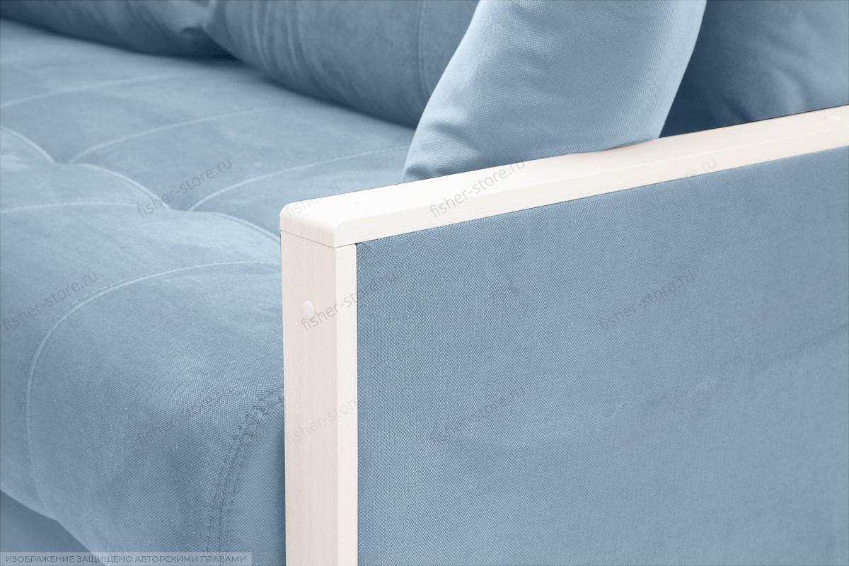 Прямой диван Мадрид Amigo Blue Подлокотник