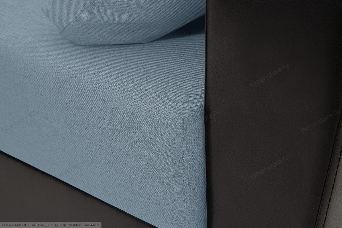 Диван Амстердам эконом Dream Blue Текстура ткани