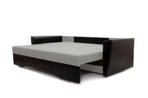 Прямой диван еврокнижка Амстердам эконом Dream Light Grey Спальное место