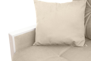 Прямой диван Мадрид Amigo Bone Подушки