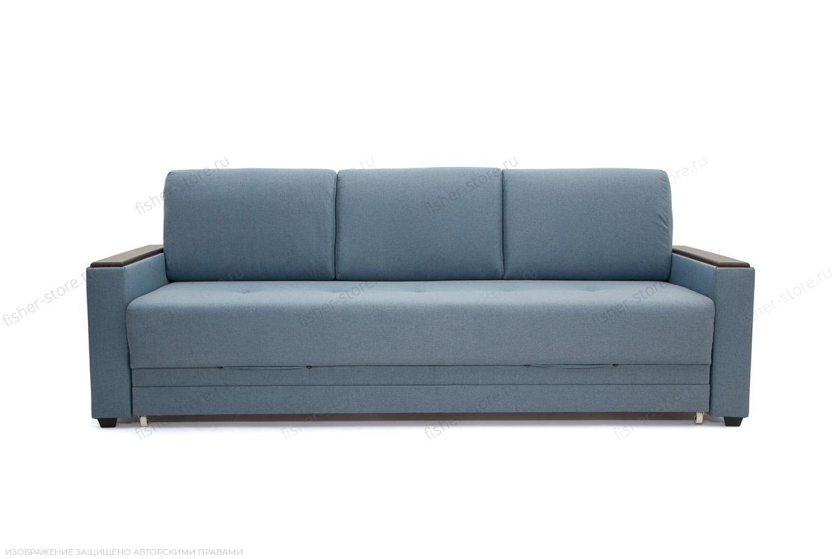 Прямой диван Мейсон плюс Dream Blue Вид спереди