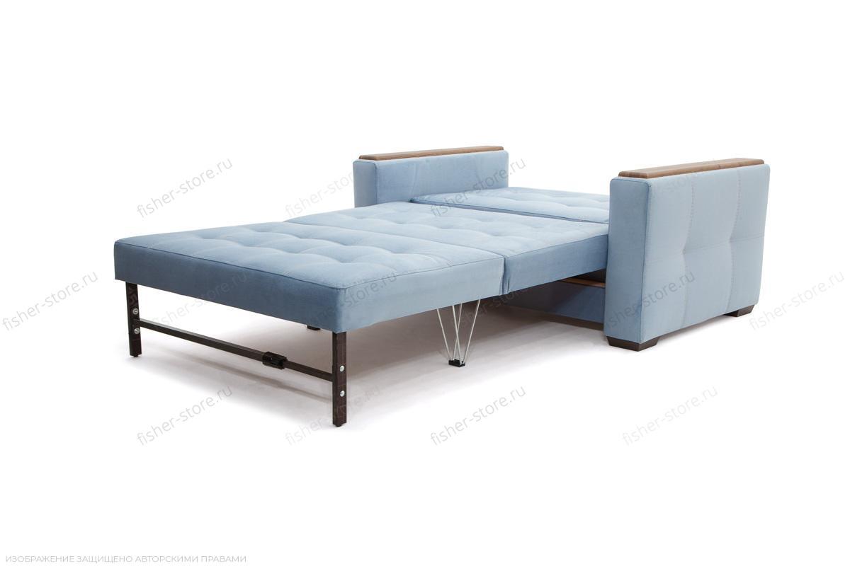 Прямой диван Этро люкс Amigo Blue Спальное место