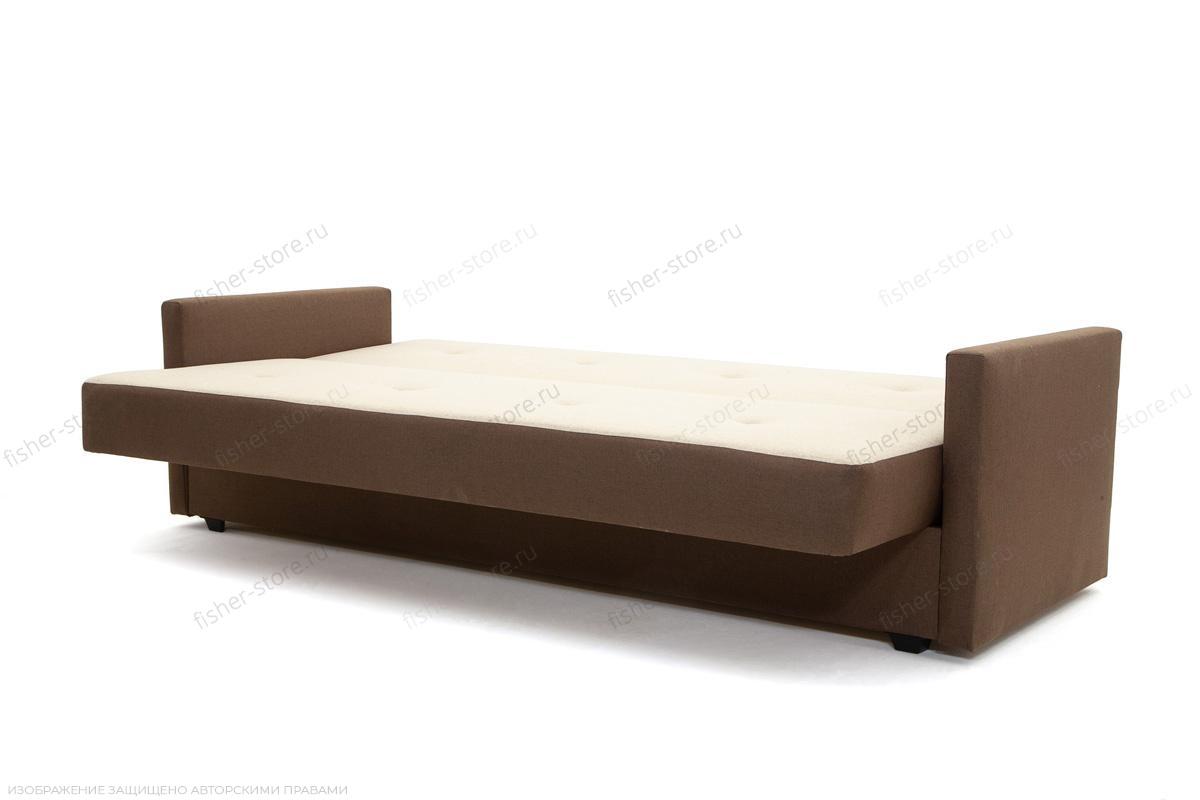 Прямой диван Берри Эко  Dream Beight + Dream Brown Спальное место