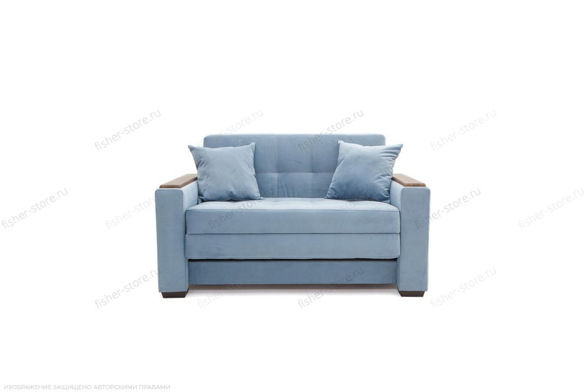 Прямой диван Этро люкс Amigo Blue Вид спереди
