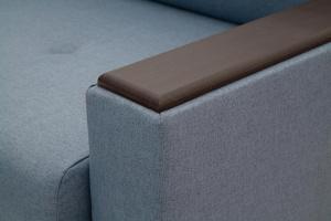 Прямой диван Мейсон плюс Dream Blue Текстура ткани