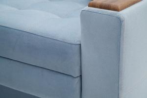 Прямой диван Этро люкс Amigo Blue Текстура ткани