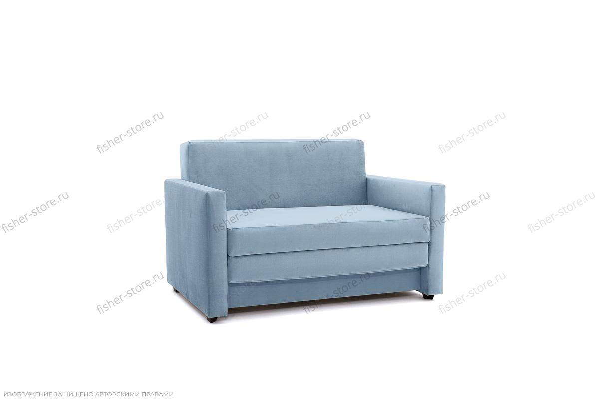 Прямой диван Этро  Amigo Blue Вид по диагонали