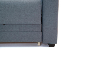 Прямой диван Мейсон плюс Dream Blue Ножки