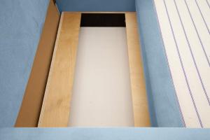 Прямой диван Этро  Amigo Blue Ящик для белья