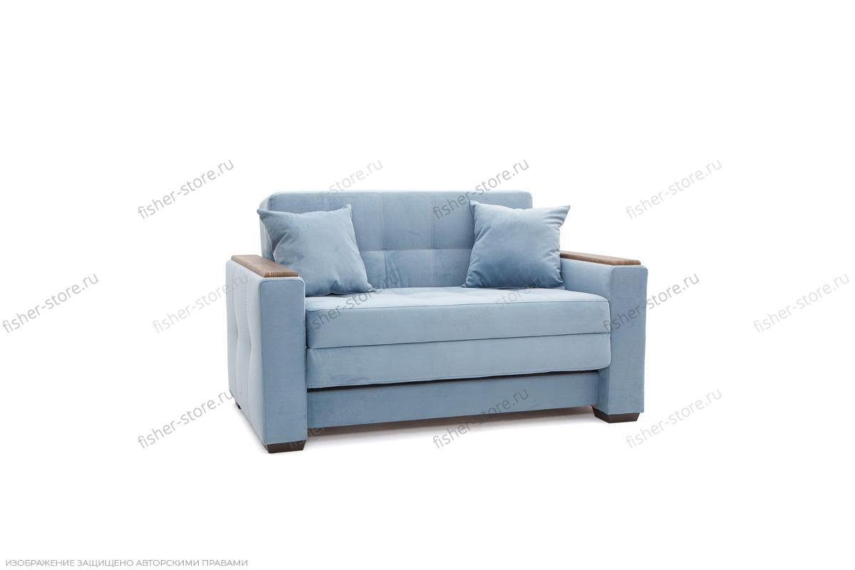 Прямой диван Этро люкс Amigo Blue Вид по диагонали