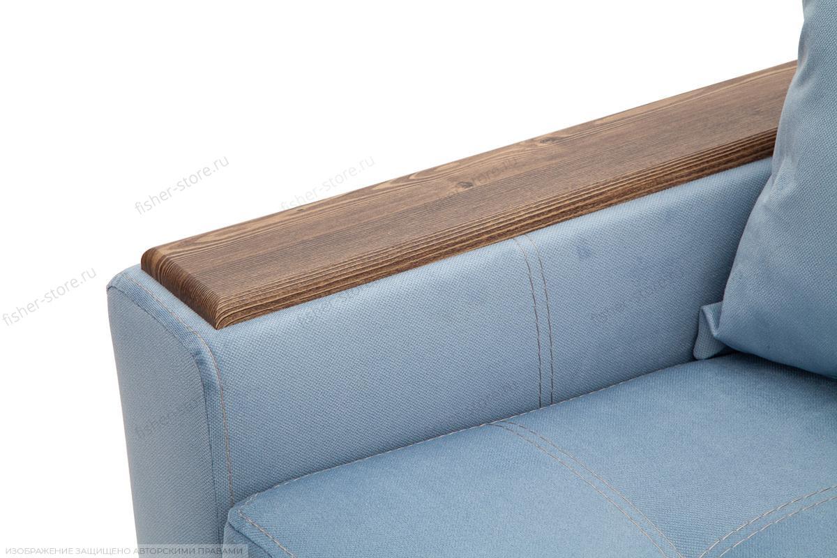 Прямой диван Этро люкс Amigo Blue Подлокотник