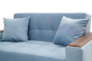 Прямой диван Этро люкс Amigo Blue Подушки