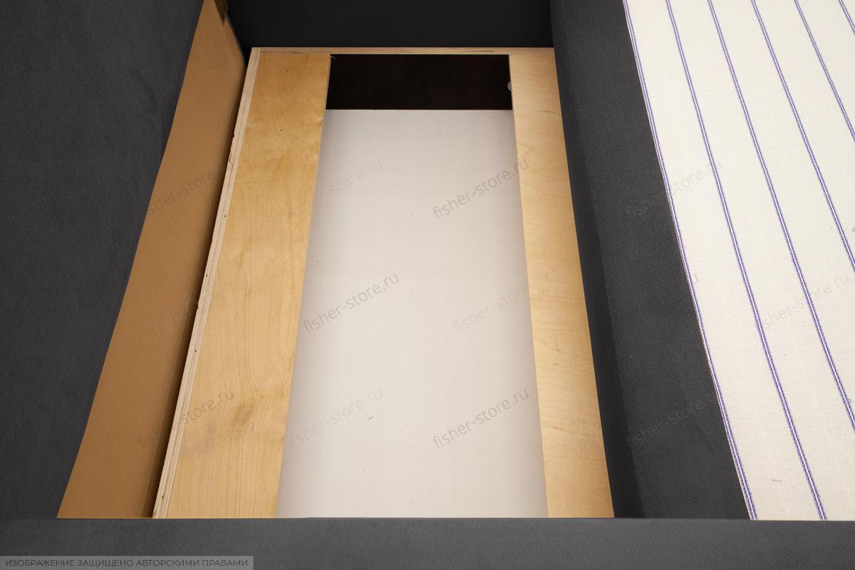 Прямой диван Этро  Amigo Grafit Ящик для белья