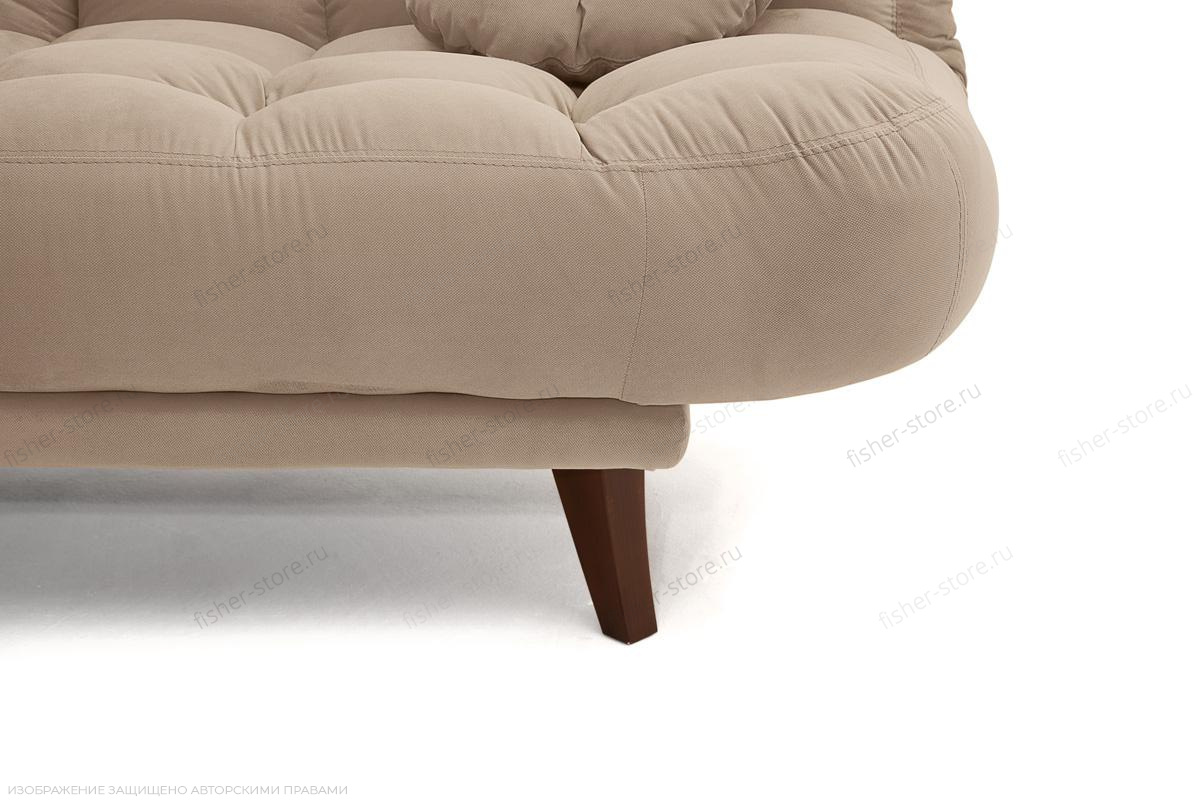 Прямой диван Остин Amigo Latte Ножки