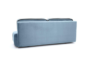 Прямой диван Лаки Amigo Blue Вид сзади