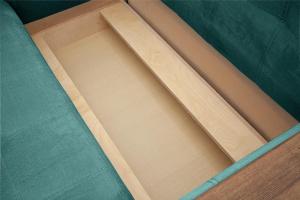 Прямой диван Этро люкс Amigo Lagoon Ящик для белья