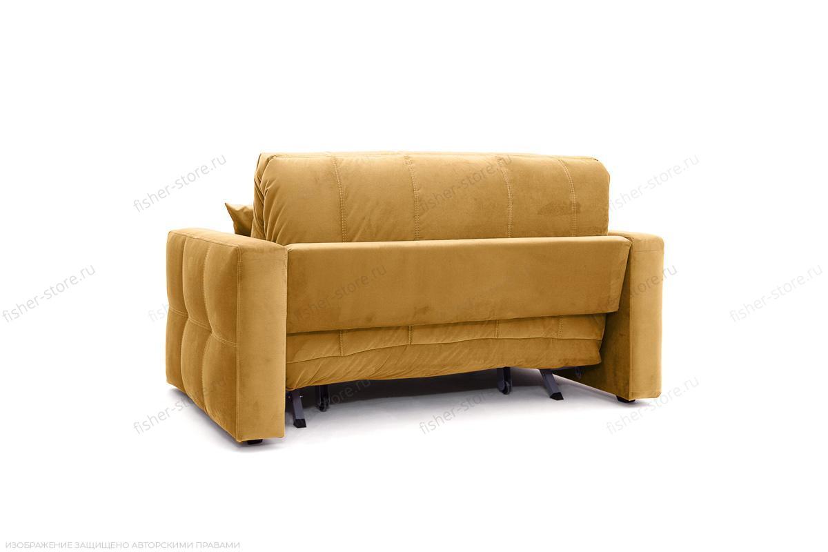 Двуспальный диван Ява Amigo Yellow Вид сзади