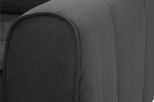 Прямой диван Кайман Amigo Grafit Текстура ткани