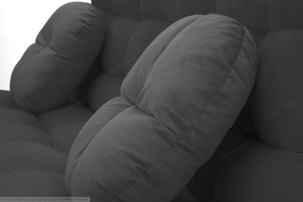 Прямой диван Остин Amigo Grafit Подушки