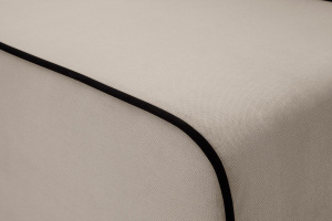 Прямой диван Лаки Amigo Cream Текстура ткани